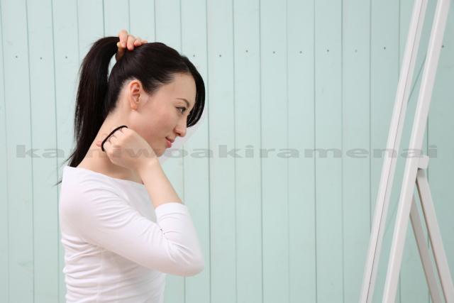 牽引性脱毛